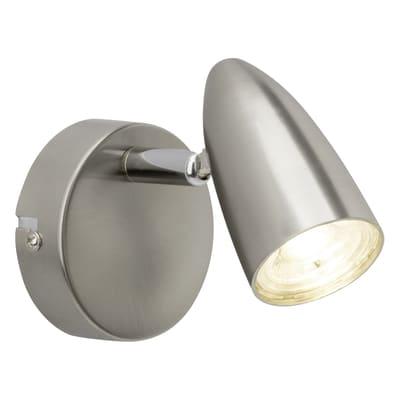 Faretto singolo Nano cromo, in metallo, LED integrato 4W 350LM IP20