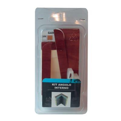 Angolare interno in kit kit angolo interno battiscopa 7011 noce chiaro 5 x Sp 20 mm