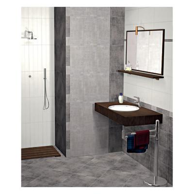 Piastrelle Bagno Prezzi: Piastrelle bagno prezzi napoli cabina doccia grande grigio scuro.